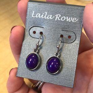 Laila Rowe Purple Earrings